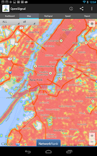 3G/4G/LTE/WiFi Coverage Maps - screenshot thumbnail