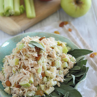 Honey Chicken Salad With Apples & Sage