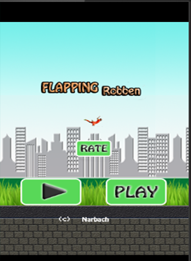 Flapping Robben