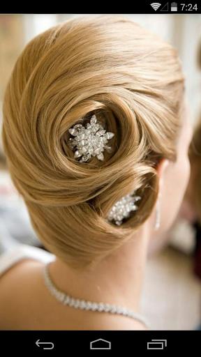 Trendy hairdo