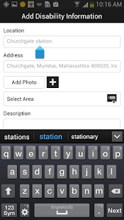 Accessible Places - screenshot thumbnail