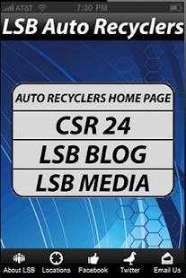 LSB Auto Recyclers- screenshot thumbnail