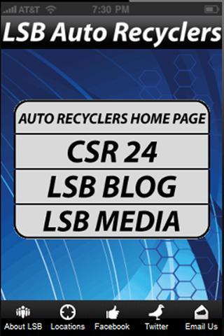 LSB Auto Recyclers- screenshot