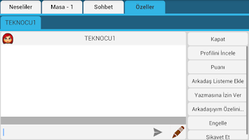 Screenshot of Okey - Kameralı Süper Okey