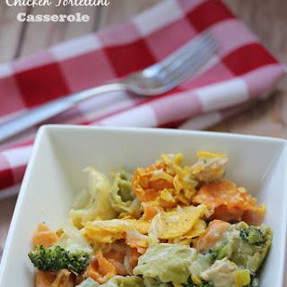 Santa Fe Chicken Tortellini Casserole