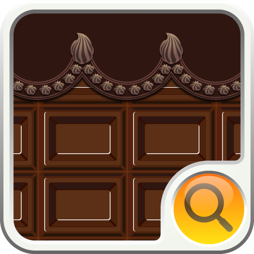 個人化必備App|milk chocolate Search Widget LOGO-綠色工廠好玩App