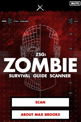 Zombie Survival Guide Scanner- screenshot