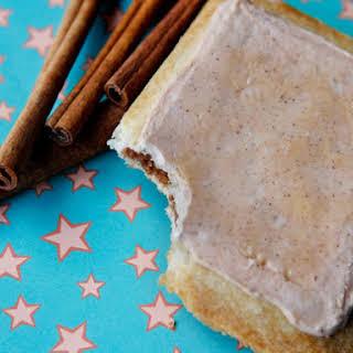 Homemade Brown Sugar Cinnamon Pop-Tarts.