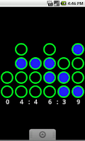 Screenshot of Binary Clock Wallpaper