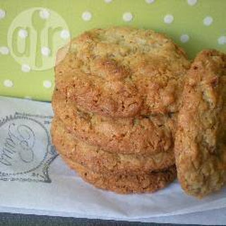 Coconut And Walnut Oat Biscuits.