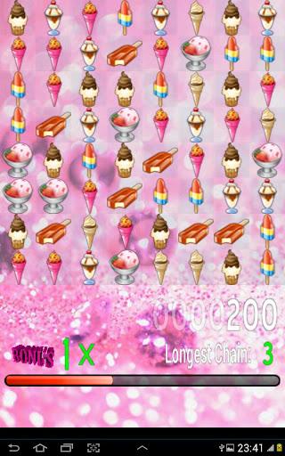 アイスクリームの宝石の試合