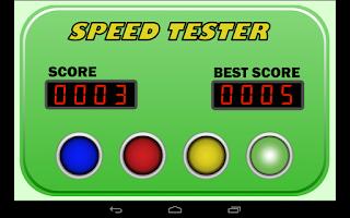 Screenshot of Speed Tester