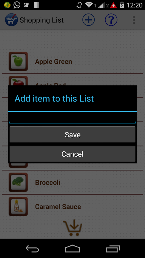 Easy Shop (Grocery mart)- screenshot