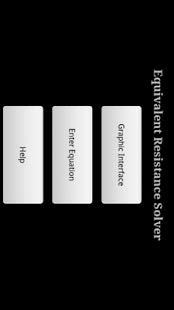 Equivalent Resistance Solver - screenshot thumbnail