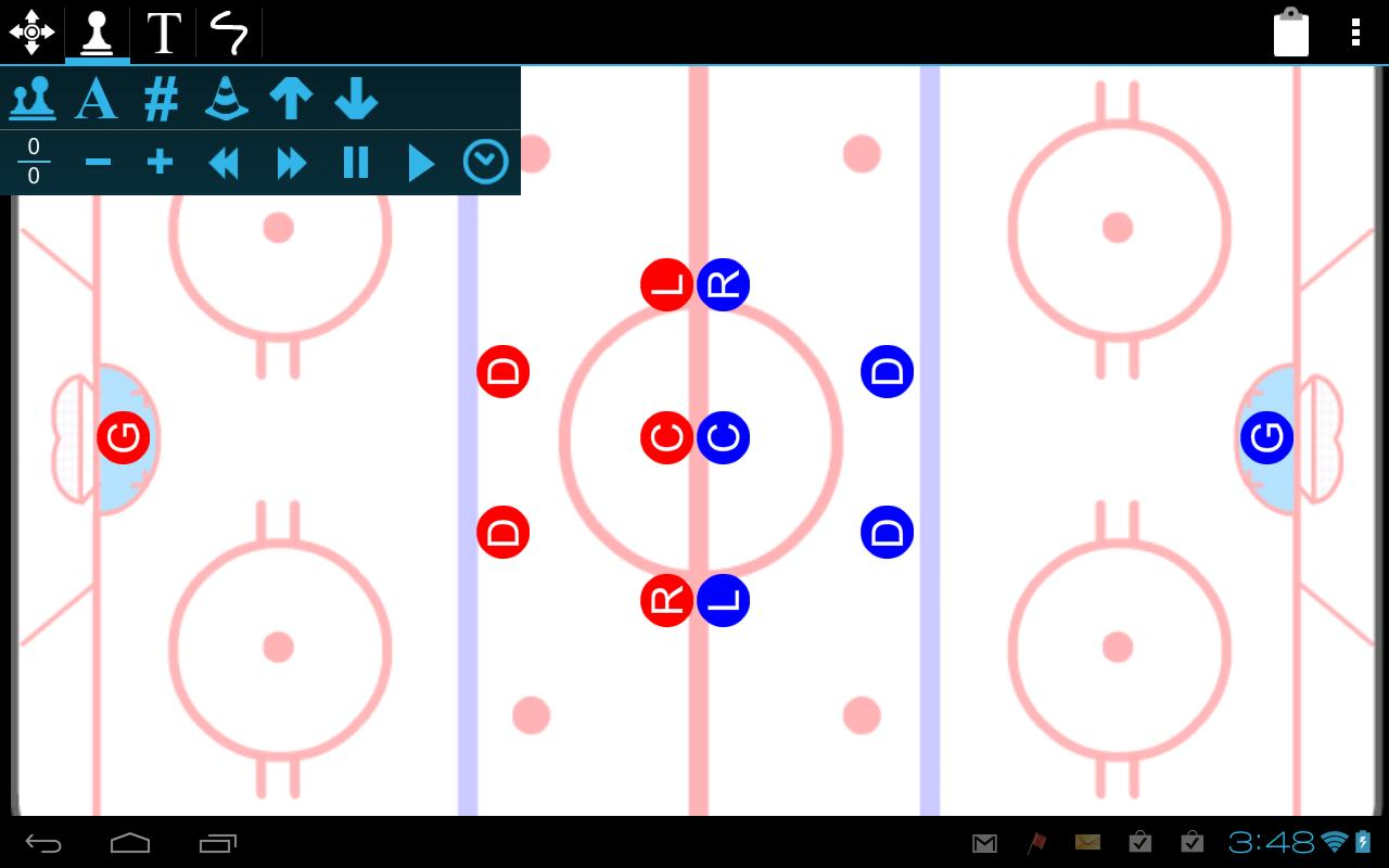 how to play ice hockey positions