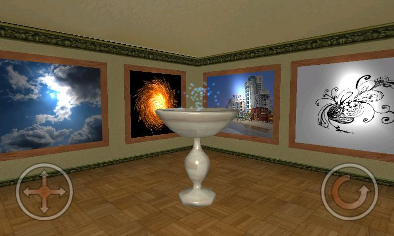 Virtual Photo Gallery 3D - screenshot
