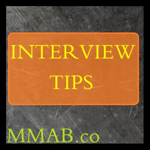 Interview Tips LOGO-APP點子