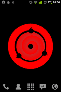 Sharingan Eye Live Wallpaper - screenshot thumbnail