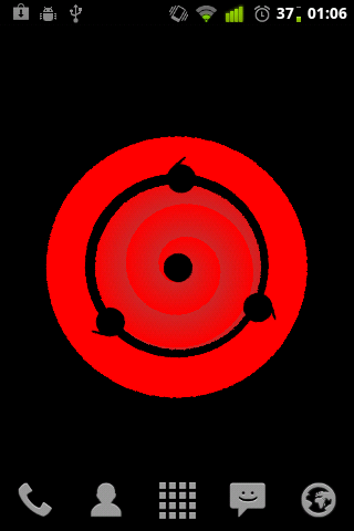 Sharingan Eye Live Wallpaper - screenshot