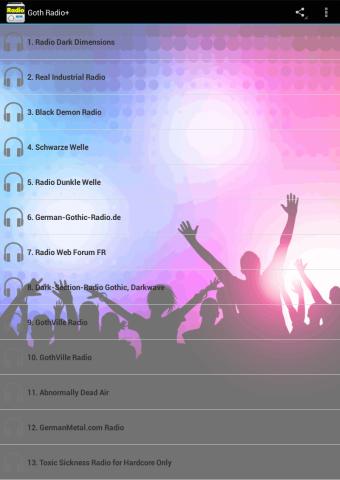 【免費音樂App】Goth Radio-APP點子