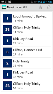 NBT Nottingham Bus Timetables- screenshot thumbnail