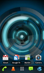 RLW Theme Black Blue Tech - screenshot thumbnail