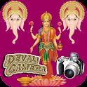 Deepavali Wishes Camera icon