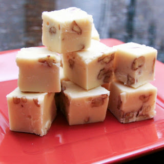 White Chocolate Fudge With Pecans