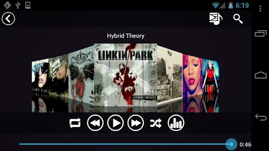 Fusion Music Player- screenshot thumbnail
