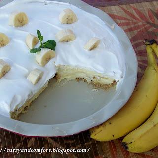 No-Bake Banana Cream Pie.