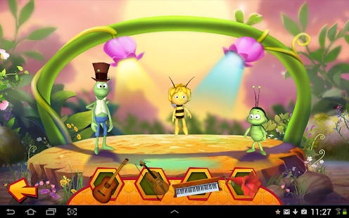 Maya the Bee: Flowerparty Lite- screenshot thumbnail