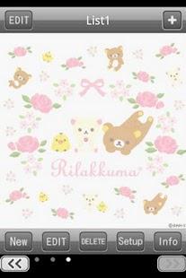 玩生活App Rilakkuma Shopping list免費 APP試玩