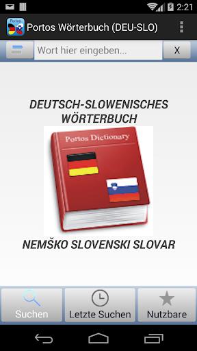 PortosDicty Deu-Slo - FREE