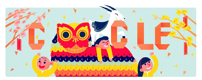 Capodanno lunare 2015 (Doodle Google Vietnam)