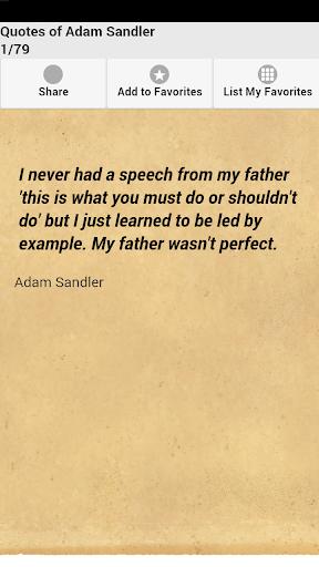 Quotes of Adam Sandler