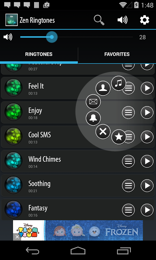 Zen Ringtones- screenshot