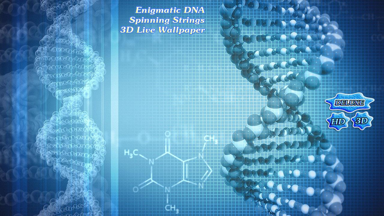 Enigmatic DNA Spinning Strings- screenshot