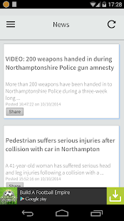 Northampton Local News - screenshot thumbnail