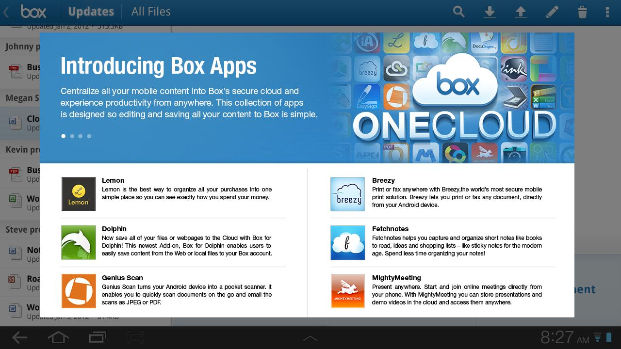 Box - screenshot