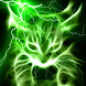 Green Glowing Hellfire Kitty