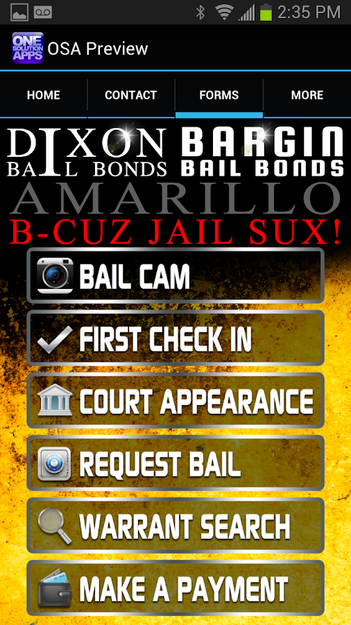 Amarillo Bail - screenshot