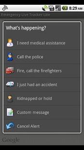 Emergency Live Tracker Lite- screenshot thumbnail