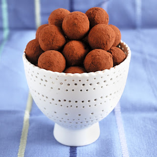 Date, Coconut, and Spices Truffles.