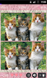 Cute Cats: Spot The Difference - screenshot thumbnail
