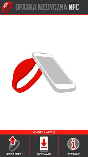 Opaska Medyczna NFC