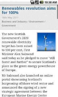 Scottish Government News - screenshot thumbnail