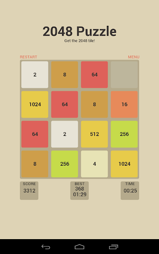 Puzzle 2048 v5