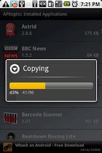APKoptic- screenshot thumbnail