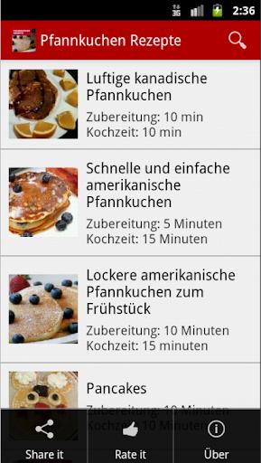 Pancakes Rezepte : Deutschland