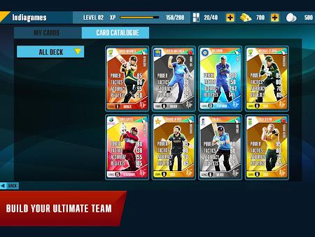 Indiagames Cricket Card Battle 11.0.1 screenshot 148228